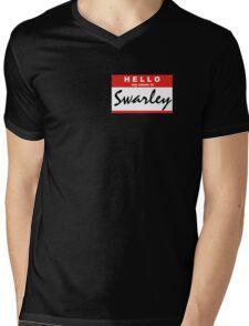 Swarley Mens V-Neck T-Shirt