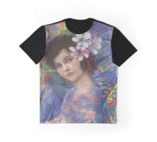 Butterfly fairy by Karen Knight Veal Graphic T-Shirt