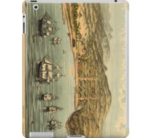 Vintage Pictorial Map of San Francisco (1884)  iPad Case/Skin