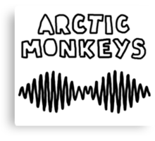 arctic monkeys am doodle Canvas Print