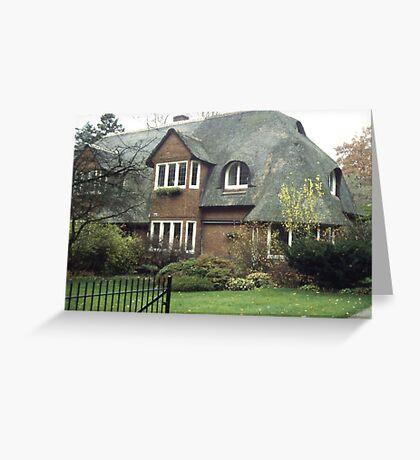 Dutch Home, Hilversum Greeting Card