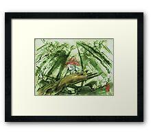 Okami Wallpaper Framed Print