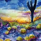 Desert Dusk by twopoots
