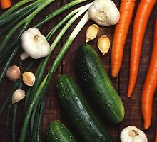 Healthy Vegetables by BravuraMedia