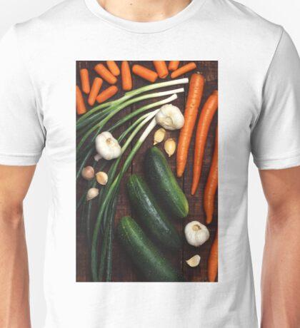 Healthy Vegetables Unisex T-Shirt