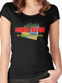 Science Friction Women's Fitted Scoop T-Shirt