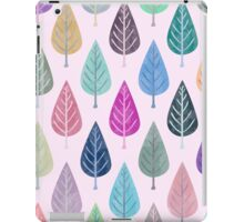 Watercolor Forest Pattern IIV iPad Case/Skin