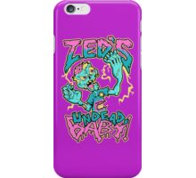 Undead Zed iPhone Case/Skin