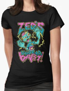 Undead Zed Womens Fitted T-Shirt