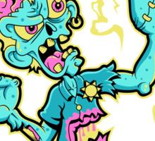 Undead Zed Sticker