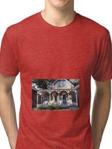 Gingerbread house. Tri-blend T-Shirt