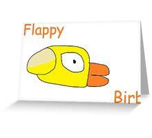 Flappy Birb Greeting Card