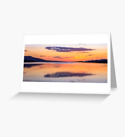 Kenmare Sunset, Co. Kerry, Ireland Greeting Card