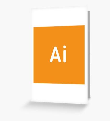 Adobe Illustrator CC Square Greeting Card