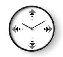 simple wall clock design: many directions Clock