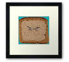 Angry Manwich Framed Print