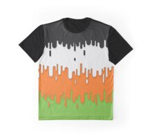 Non-Binary Abstract Drips Flag Graphic T-Shirt