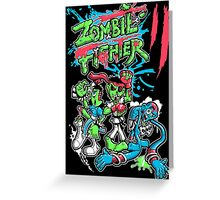 Zombie Fighter Greeting Card