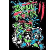 Zombie Fighter Photographic Print