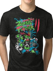 Zombie Fighter Tri-blend T-Shirt
