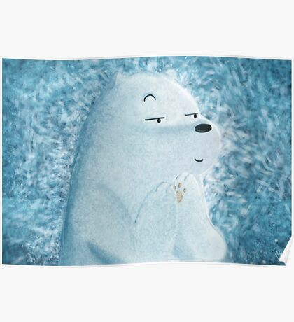 Ice Bear Poster