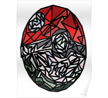 Stained Glass Ball Poster