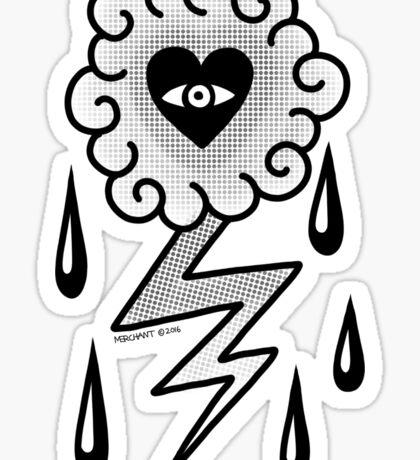 Mark C. Merchant brand illustration Sticker