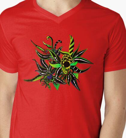 Epic Flower Mens V-Neck T-Shirt