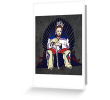 NY Rangers Greeting Card