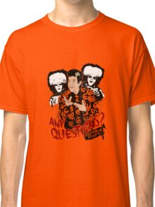 David S Pumpkins, Any Questions? Classic T-Shirt