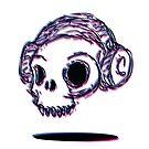 3D Skull by volkandalyan
