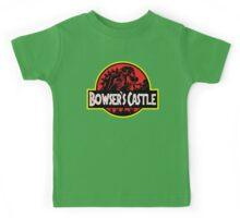 Bowser's Jurassic Castle Kids Tee