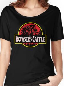 Bowser's Jurassic Castle Women's Relaxed Fit T-Shirt