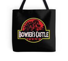 Bowser's Jurassic Castle Tote Bag