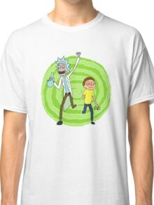 Stoner Rick And Morty Classic T-Shirt