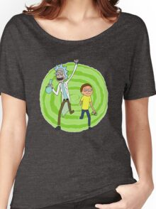 Stoner Rick And Morty Women's Relaxed Fit T-Shirt