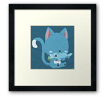 Happy (Simplistic) Framed Print