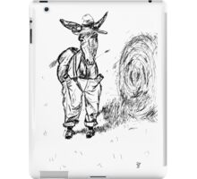 Donkey in a Hat iPad Case/Skin