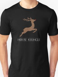 House Kringle Santa Red Nosed Reindeer Sigil Unisex T-Shirt