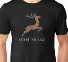 House Kringle Santa Red Nosed Reindeer Sigil Unisex T-Shirt