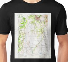 USGS TOPO Map California CA Chico 297080 1949 62500 geo Unisex T-Shirt