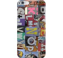 Las Vegas Sign Alphabet iPhone Case/Skin