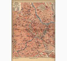 Vintage Map of Vienna Austria (1920) T-Shirt