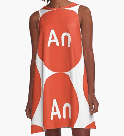 Adobe CC Animate Circles A-Line Dress