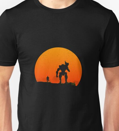 Pilot and Titan Unisex T-Shirt