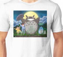 Totoro Midnight Dance Unisex T-Shirt