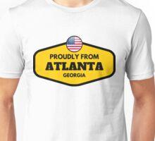 Proudly From Atlanta Georgia Unisex T-Shirt