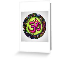 Ohm Greeting Card