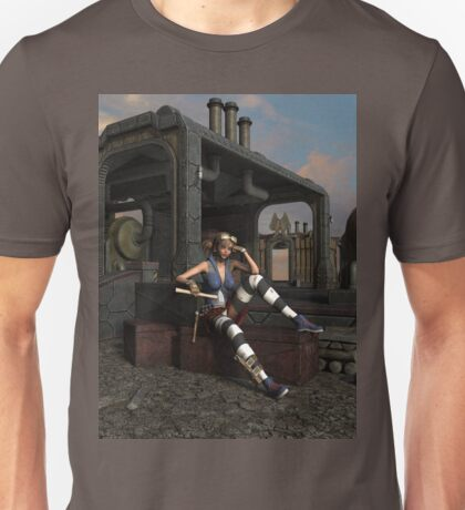 Steampunk Blaze  Unisex T-Shirt
