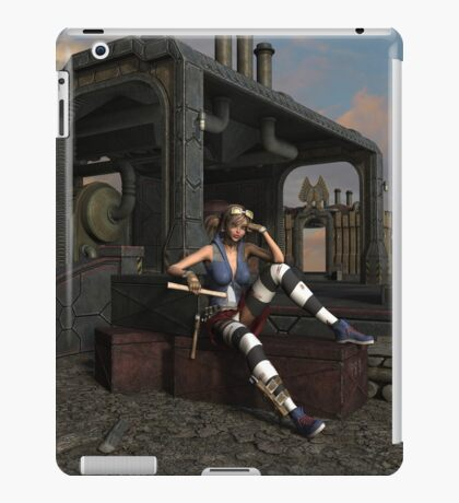 Steampunk Blaze  iPad Case/Skin